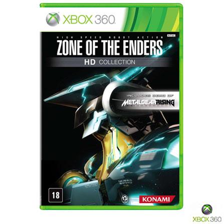Jogo Zone of the Enders: HD Collection para Xbox 360, Xbox 360, Ação, DVD, 18 anos, Inglês, Inglês, 03 meses