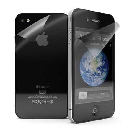 Película Protetora Transparente iKit Antirreflexo para iPhone 4 - P4SRNSH, Não se aplica, Películas, 12 meses