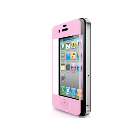 Película em Vidro Temperado para iPhone 4/4S Shell Shock G-Class Rosa - Cellairis - 11-0071005R