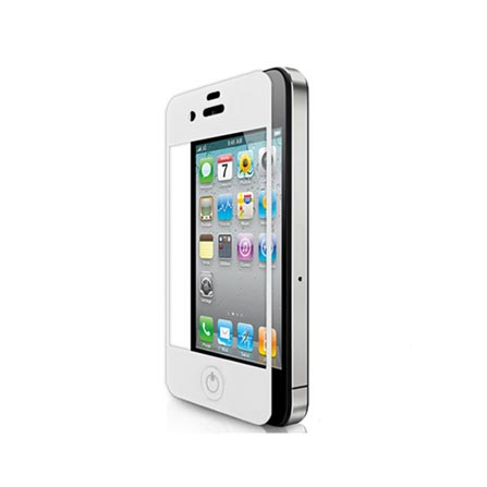 Película em Vidro Temperado para iPhone 4/4S Shell Shock G-Class Branca - Cellairis - 11-0071009R