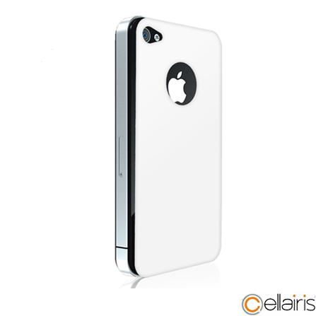 Película em Vidro Temperado para iPhone 4/4S Frente e Verso Shell Shock G-Class Branca - Cellairis - 11-0071018R