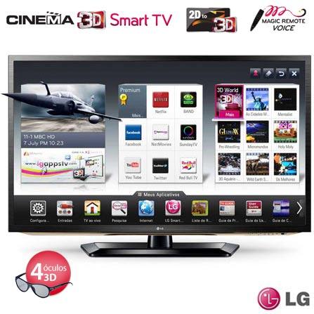 Smart TV LED LCD 3D 42