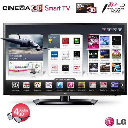 Smart TV LED LCD 3D 47