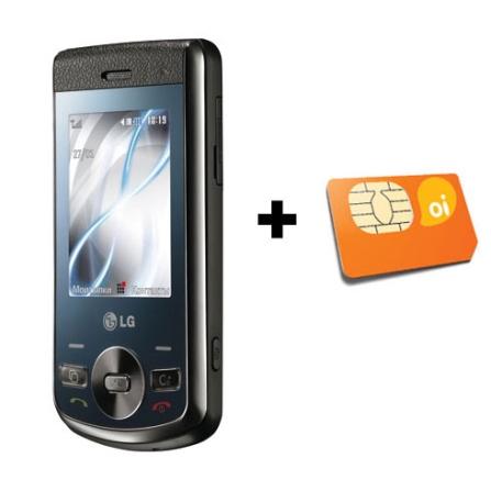 Celular GSM GD330 c/ Bluetooth /Email LG + Chip OI