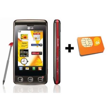 Celular KP570 Cookie Touch Screen/Bluetooth LG