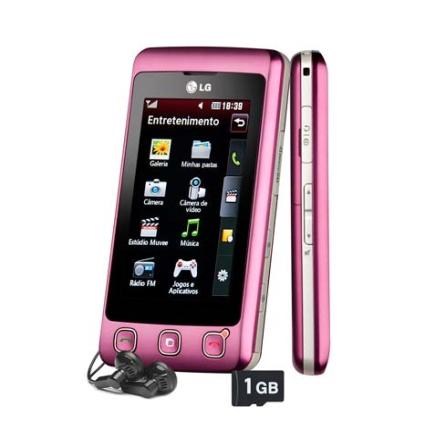 Celular KP570 Cookie Touch LG + Chip Vivo Pré