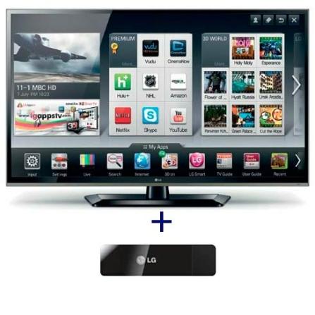 Smart TV LED LCD 32