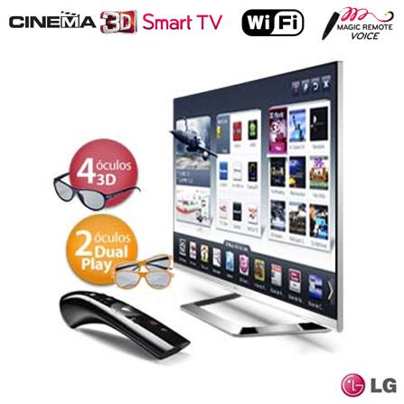 Smart TV LED 3D 55