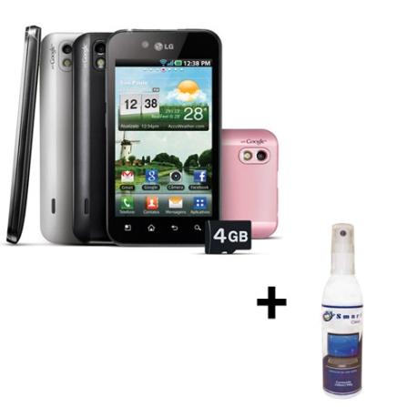 Smartphone LG Optimus Black P970 + Limpador
