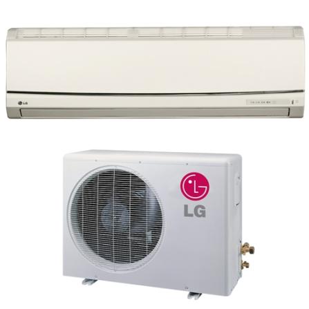 Condicionador de Ar Split Smile 12.000Btus / Eletrônico / Frio / Filtro Antibactéria / Branca - LG - CJTSUC122YMA, 220V, LA, 12.000 BTUs, Split, 12.000 a 18.500 BTUs