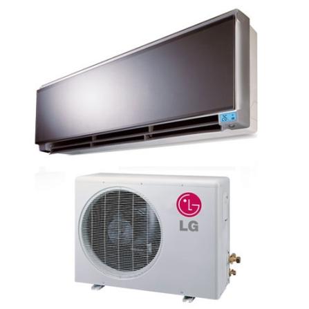Condicionador de Ar Split Art Cool 24000Btus / Eletrônico / Quente/Frio / Cinza e Branco - LG - CJTSUH2428RM, 220V, LA, 24.000 BTUs, Split, Acima de 23.500 BTUs