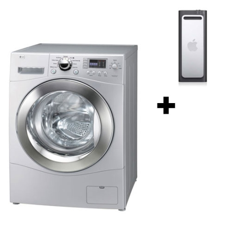 Lavadora e Secadora de Roupa 10Kg+iPod shuffle 2GB, 110V, 220V, LB