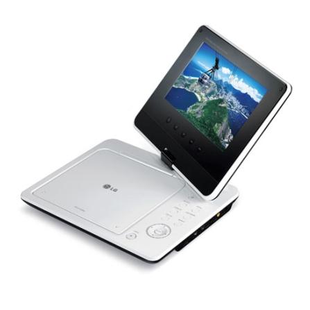 DVD Player Portátil com Tela de 7