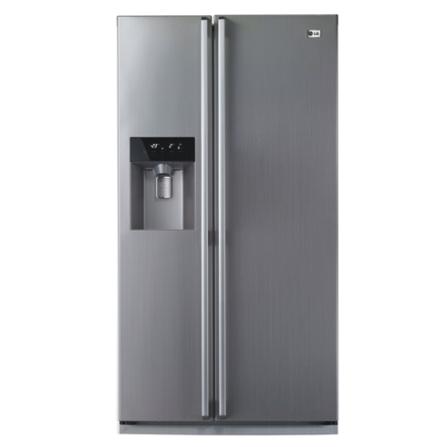 Refrigerador Side by Side 498L LG, 110V, 220V, Aço Escovado, De 351 a 500 litros, 498 Litros, 150 Litros, 348 Litros, Classe A, 53 kWh/mês, Sim, Sim, 12 meses, 02 Portas, Side by Side