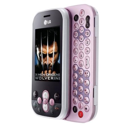 Celular GSM GT360 Messenger Rosa/Teclado QWERTY LG