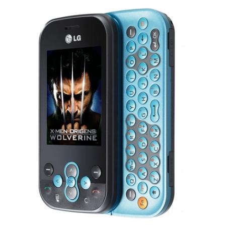 Celular GSM GT360 Messenger Preto e Azul