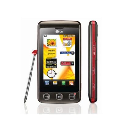 Celular GSM KP570 Cookie Preto - LG