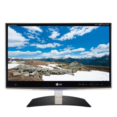 Monitor TV LG 50D, com Tela LED de 23