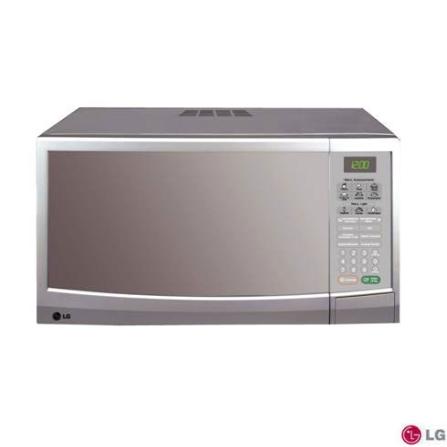 Forno Microondas 30L Grill Espelhado LG - MH3046SP, 110V, 220V, LB, Acima de 30 litros