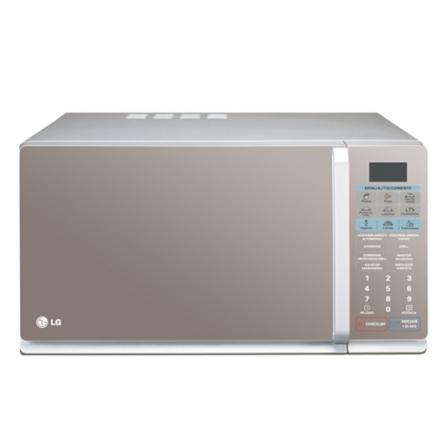 Forno de Micro-ondas 30L com Grill / Menu Light / Espelhado - Next Latin LG - MH7048AP, 110V, 220V, LB, Acima de 30 litros