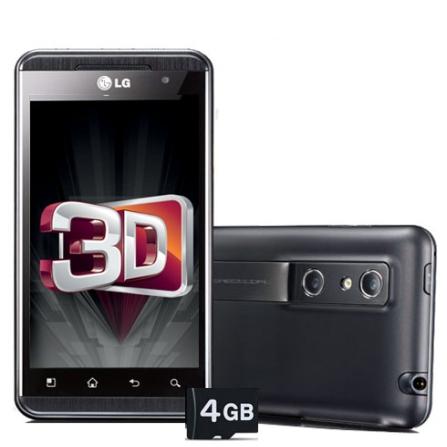 Smartphone LG Optimus P920 com Câmera 5MP