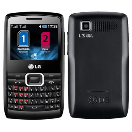 Celular Dual Chip X335 com Teclado Qwerty LG