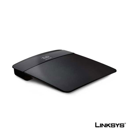Roteador Wireless N 300Mbps Preto Linksys - LKE1200BR, 24 meses, Roteadores