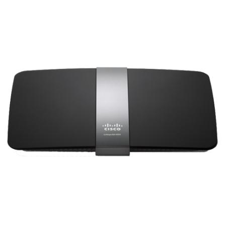 Roteador Wireless N900 Dual Band Gigabit e Porta USB Preto - Linksys - EA4500