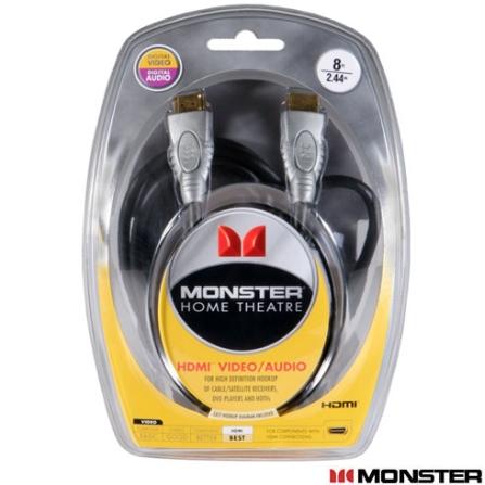 Cabo HDMI THX 2,43 Metros Monster Cable, VD
