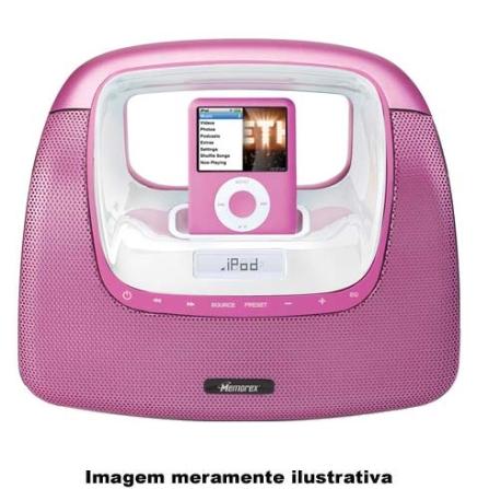 Dock para iPod com Rádio FM / Carrega iPod Memorex