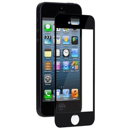 Pelicula Transparente para iPhone 5 Moshi iVisor 99MO020923 Preta, Preto