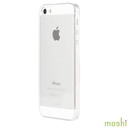 Capa Rígida para iPhone 5 iGlaze Branca - Moshi - 99MO061101