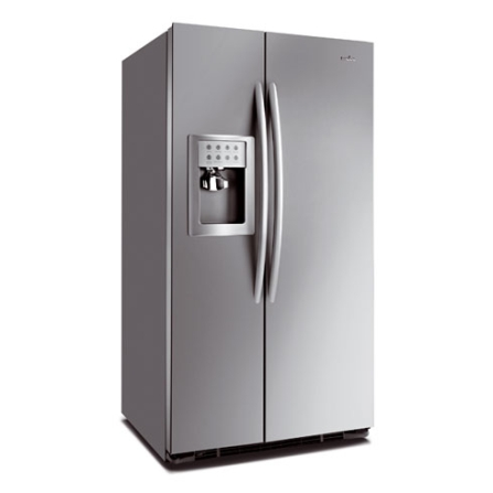 Refrigerador Side By Side 629L Frost Free Mabe, 110V, Inox, Acima de 500 litros, 629 Litros, 207 Litros, 442 Litros, Classe A, 63 kWh/mês, Sim, Sim, 12 meses, 02 Portas, Side by Side