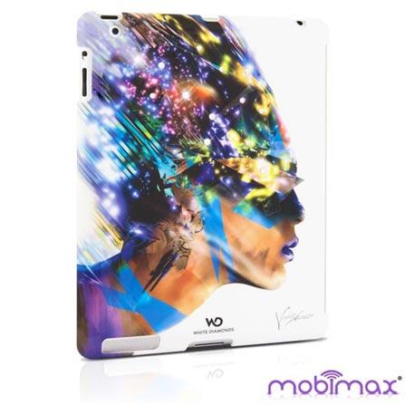 Capa Nafrotiti Branca para New iPad e iPad 2 - Mobimax, Branco