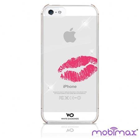 Capa Lipstick Kiss para iPhone 5 - Mobimax