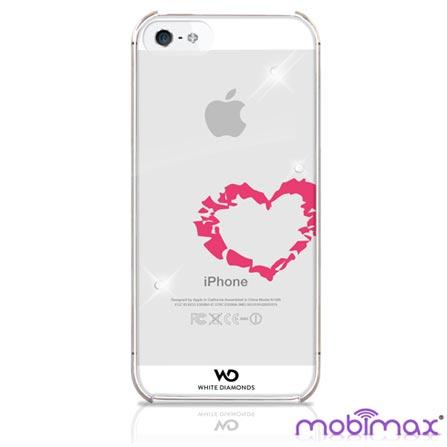 Capa Lipstick Heart para iPhone 5 - Mobimax