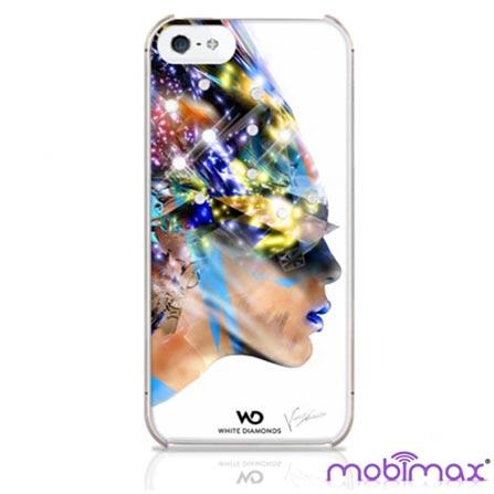 Capa Nafrotiti Branca para iPhone 5 - Mobimax