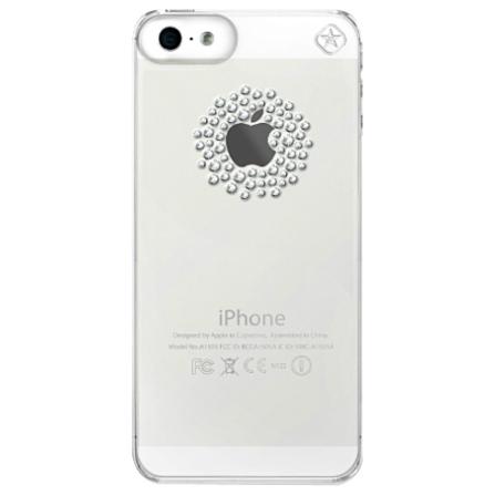 Capa para iPhone 5 com Elementos Swarovski Shadow - Mobimax - 22-00-19-01