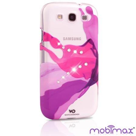 Capa Swarovski Liquids Pink para Samsung Galaxy SIII - Mobimax