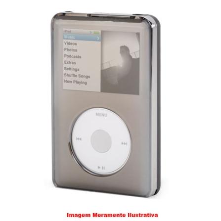 Capa de Acrílico Reflect Cinza Espelhada para iPod Classic - Griffin - 8160ICREFCLT