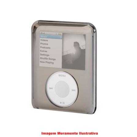 Capa de Acrílico Reflect Cinza Espelhada para iPod Nano - Griffin - 8161NREFLCT