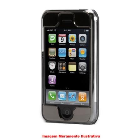 Capa de Acrílico Reflect Cinza Espelhada para iPhone - Griffin - 8181IPREFLCT