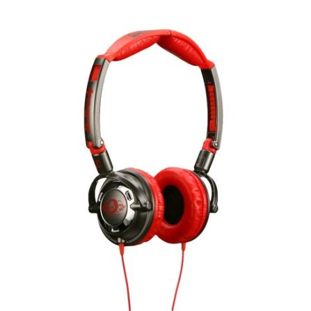 Fone de Ouvido Cromado e Vermelho - Skullcandy - CH88SKC23, Vermelho, Headphone, 12 meses