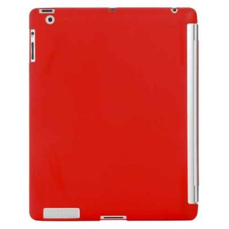 Capa para iPad 2 de Poliuretano Vermelha Mobimax, Vermelho