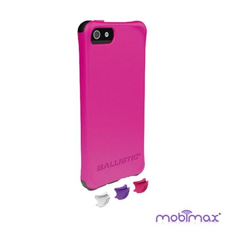 Capa para iPhone 5 LS Smooth Rosa Mobimax, Rosa, 06 meses