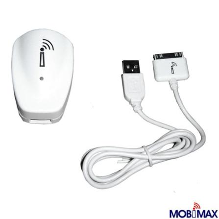 Carregador Usb Branco para Ipod - Mobimax - MCHUSB02WH, Branco, 12 meses
