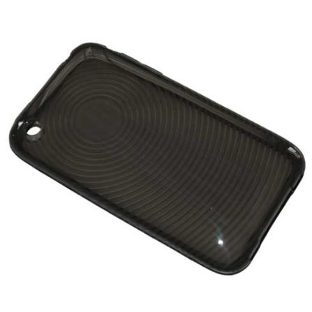 Capa Preta de Resina Flexível com Protetor de Tela para iPod touch 2° Geração - Mobimax - MFCIT3BK, 12 meses