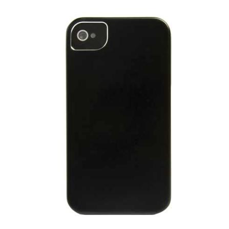 Capa de Alumínio Preto para iPhone 4 / 4S - Mobimax - MHIPC4BK