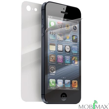 Película Protetora para iPhone 5 Frente e Verso com Remoção Automática dos Riscos - Mobimax - MMGCFM-PL