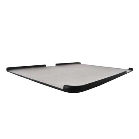 Capa Eco Couro Preto para iPad 1 com Protetor, Não se aplica
